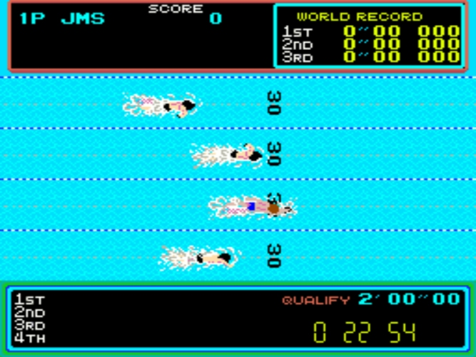 Hyper Sports natación