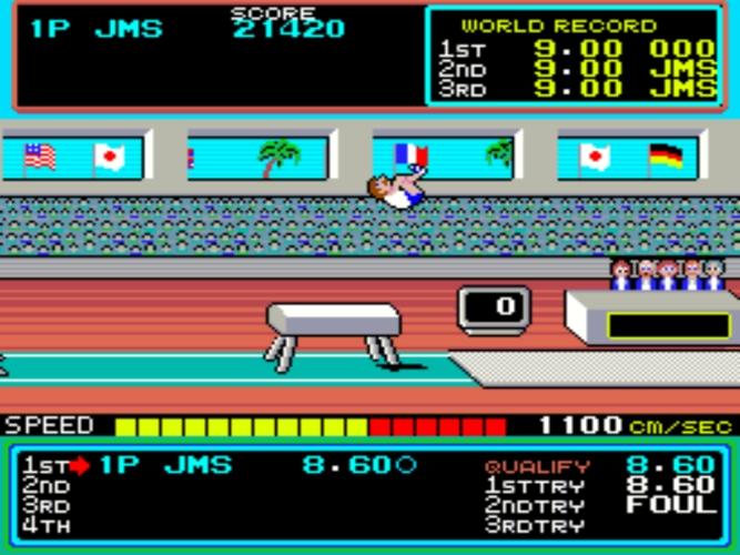 Hyper Sports salto de potro
