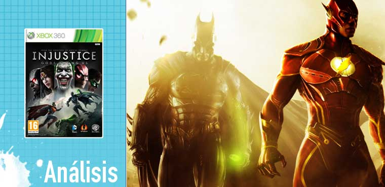 Injustice Gods Among Us para Xbox 360