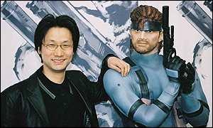 Hideo Kojima - Solid Snake.