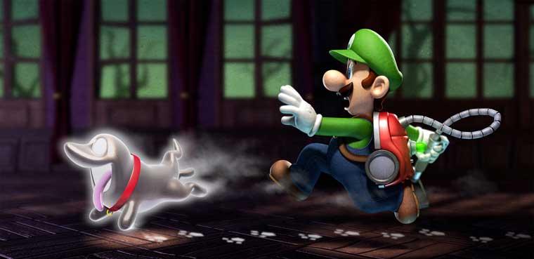 Luigi's Mansion: Dark Moon-3DS