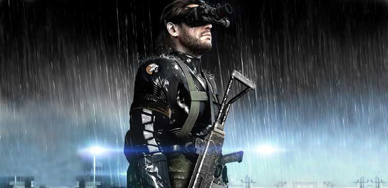 Kojima Metal Gear Solid: Ground Zeroes