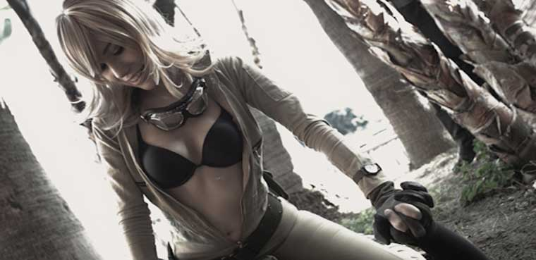 Metal Gear Solid 3 cosplay EVA