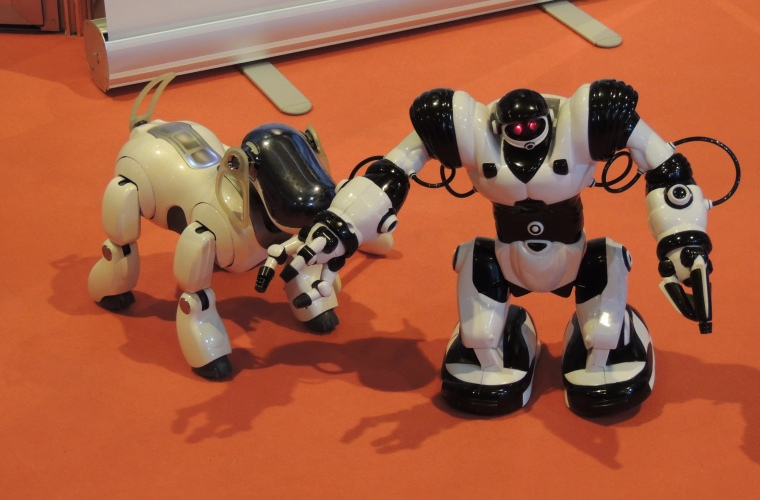 Madrid Games Week Robots