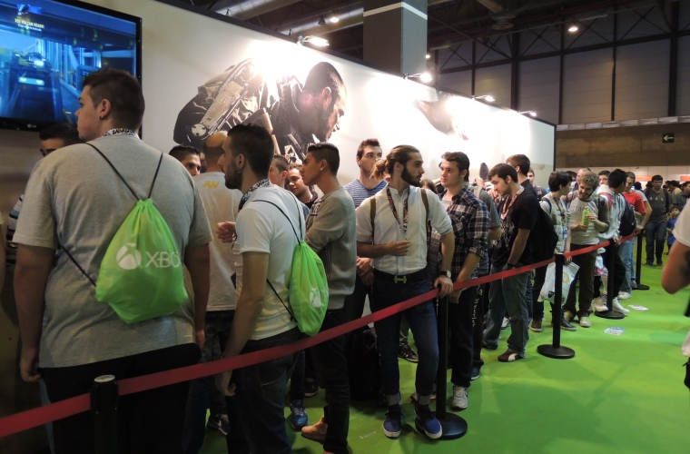 Madrid Games Week asistencia