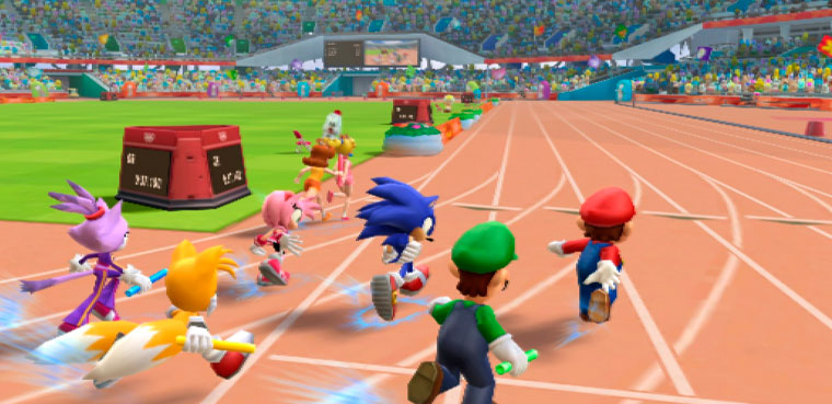 Mario&Sonic at the London 2012 Olympic Games Juegos.es