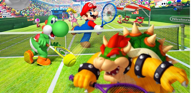 Mario Tennis Open-3DS