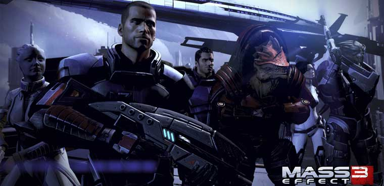 Mass Effect 3 Citadel PS3 Xbox 360 PC