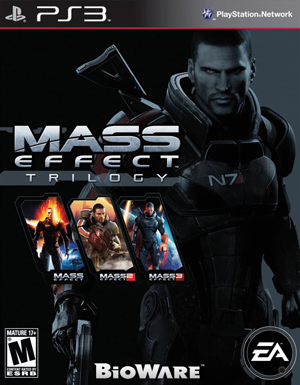 Mass Effect Trilogy PC PS3 Xbox 360