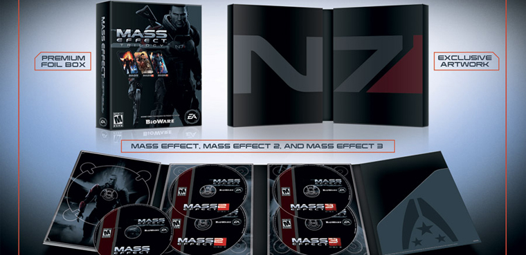 Mass Effect Trilogy PS3 PC Xbox 360