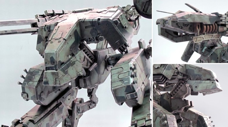¡360 € por un modelo de la saga 'Metal Gear'!