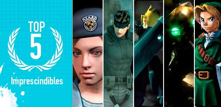 Los 5 juegos imprescindibles de AlexM