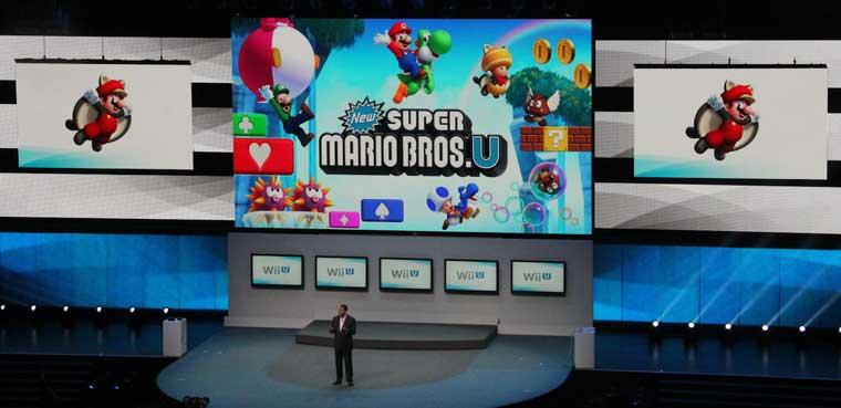 New Super Mario Bros. U - Presentación E3 2012