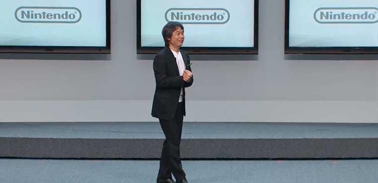 Shigeru Miyamoto - Presentación de Nintendo en E3 2012