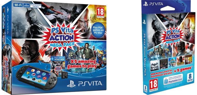 Action Mega Pack para PSP Vita Box