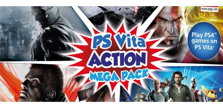 Action Mega Pack para PSP Vita