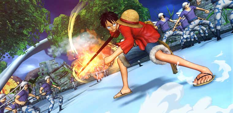 One Piece Pirate Warriors 2-PS3