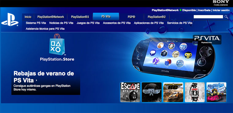 PS Vita-PlayStation Store