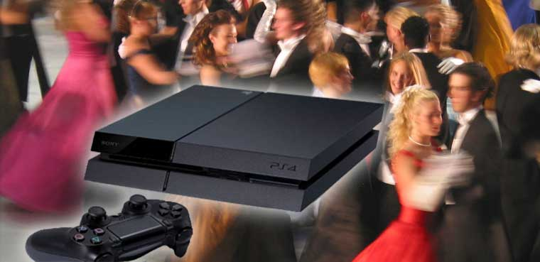 PS4 Sony Reina del baile