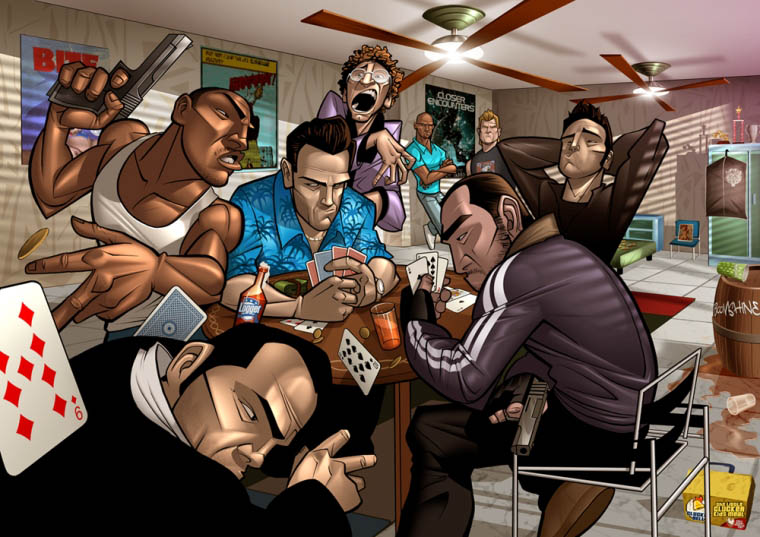 Grand Theft Auto - Patrick Brown