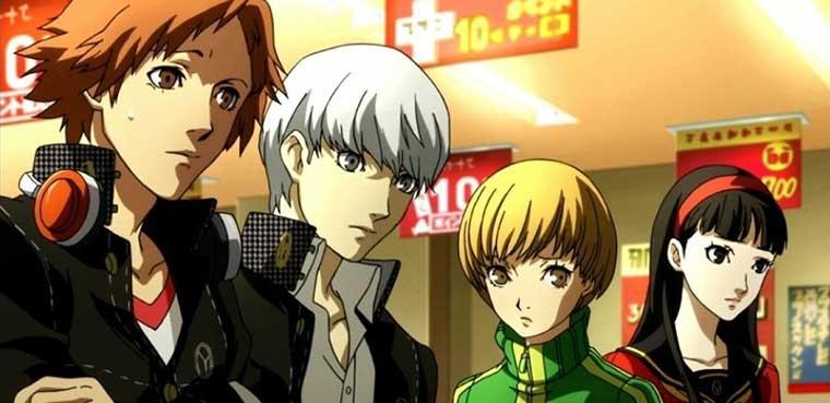 Persona 4 PS3 Xbox 360