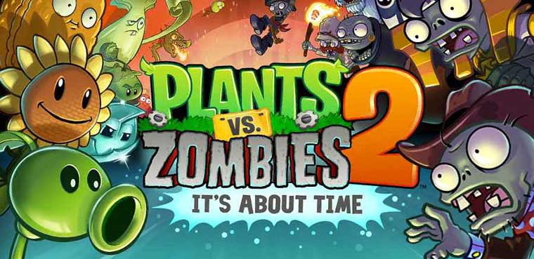 Plants Vs Zombies 2 Apple iPhone