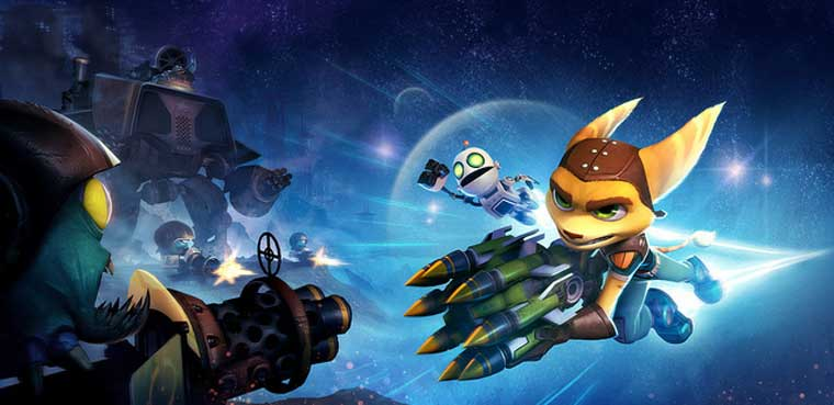 Ratchet & Clank Q-Force PSVita