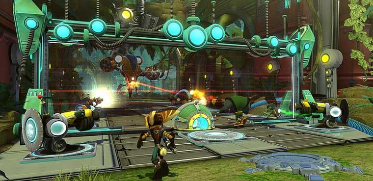 Ratchet & Clank Q-Force PSVita PS3