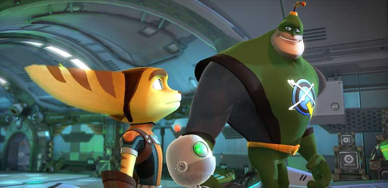 Ratchet & Clank: Full Frontal Assault-PS Vita-PS3