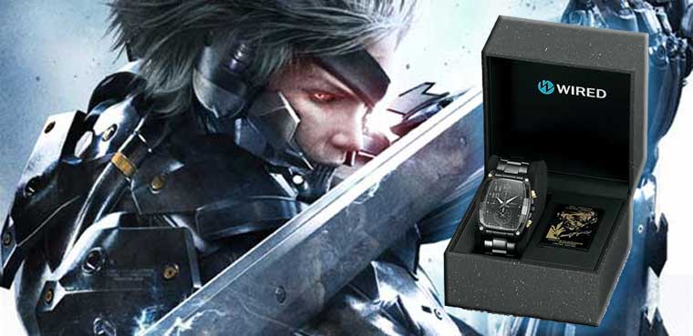 Metal Gear Rising relojes