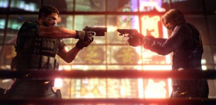 Resident Evil 6 - Leon y Chris