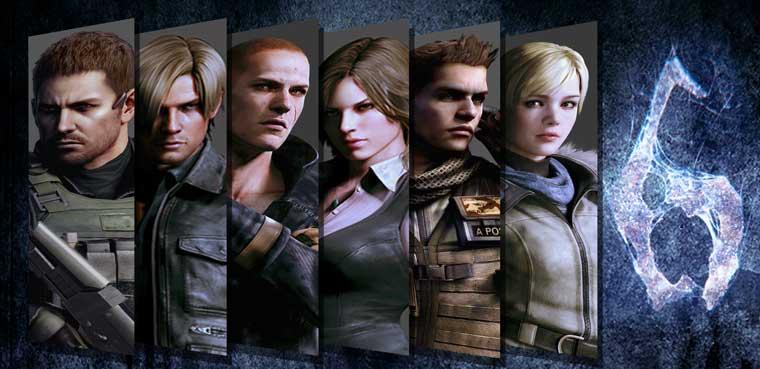 Resident Evil 6 PS3 Xbox 360 Capcom