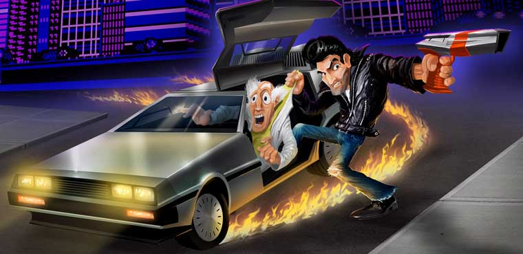 Retro City Rampage-Xbox 360-PS3-PC-PS Vita-Wii