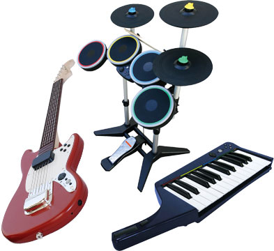 Instrumentos Rock Band 3
