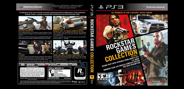Rockstar Games Collection para PS3 y Xbox 360