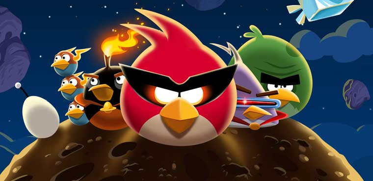 Angy Birds Space - iOS y Android