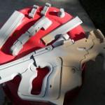 SMG M-25 Hornet - Pistola de Samara en Mass Effect 3