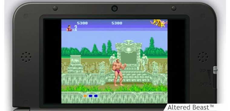 Sega clásicos en 3DS