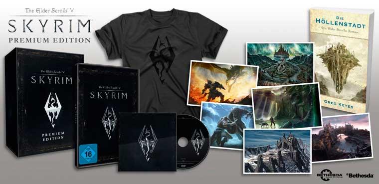 Skyrim: Premium Edition para PC, PS3 y Xbox 360