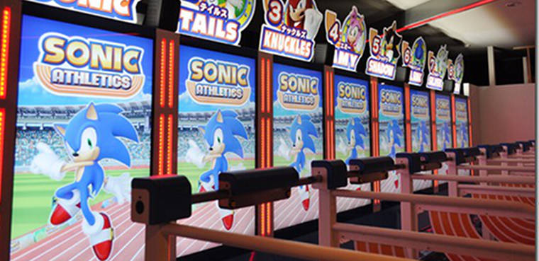 Sonic Athletics Otras plataformas Recreativas