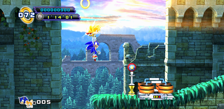 Sonic 4 Episode II-PS3-Xbox 360-Android-iOS-PC