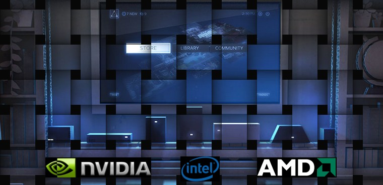 Steam Machines con Nvidia, Intel, AMD