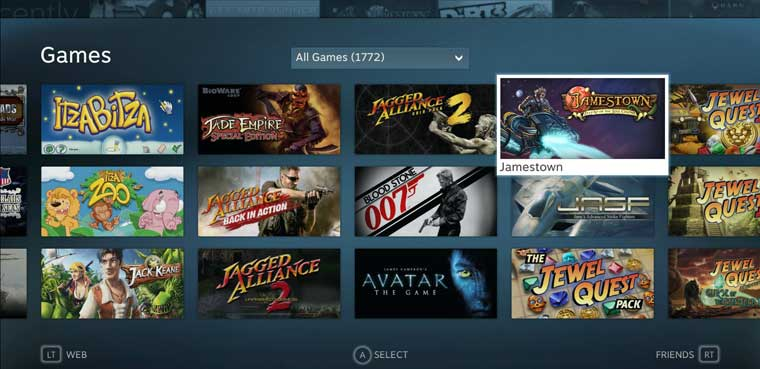 Steam Big Picture-PC-Mac