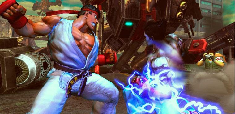 Street Fighter x Tekken para PS3 y Xbox 60