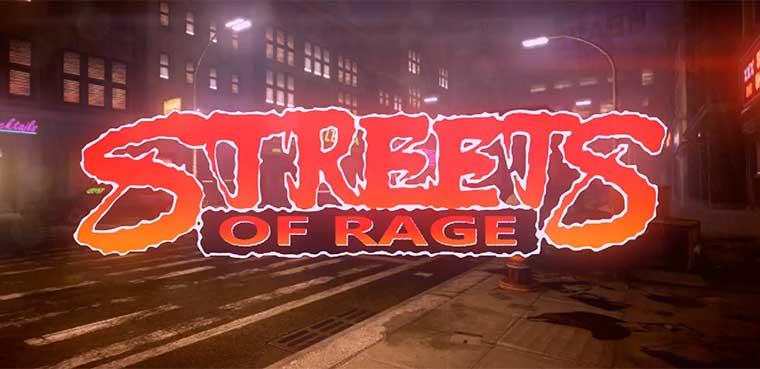 Streets of Rage Xbox 360
