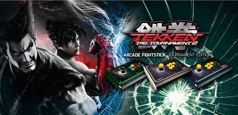 Tekken Tag Tournament 2 FightStick para Wii U, PS3 y Xbox 360
