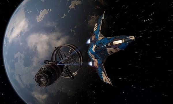 The Core Dynamics Eagle with polar camo paint job-highre