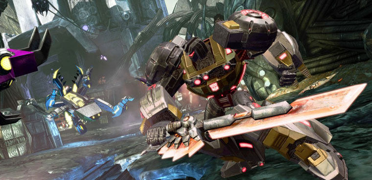 Transformers Fall of Cybertron-PS3-Xbox 360