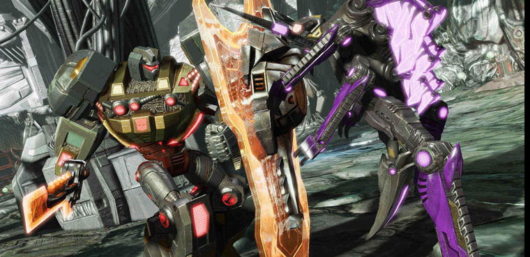 Transformers Fall of Cybertron-PS3-Xbox 360-PC