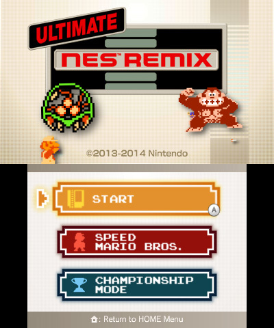 Ultimate NES Remix 1
